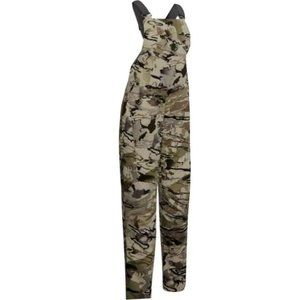 NEW woman Under Armour Grit Camo Hunting Bib